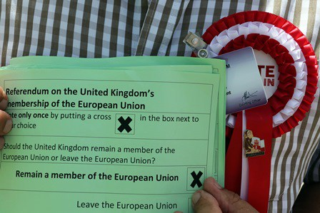 En Gibraltar el 96 % de los llanitos vota NO al Brexit del SI
