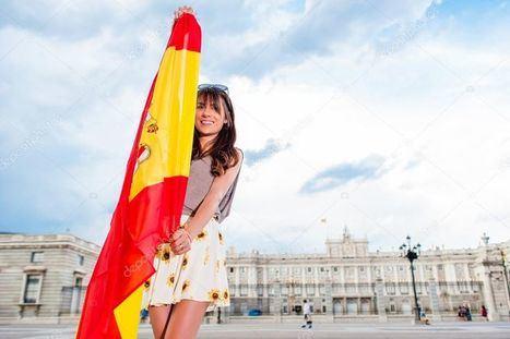 Al fondo, el Palacio Real de Madrid. (Foto: https://www.pinterest.com.mx/).