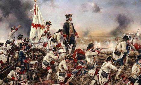 Bernardo de Gálvez y la toma de Pensacola. Foto: Wikimedia Commons / Augusto Ferrer-Dalmau / CC BY-SA 4.0.).