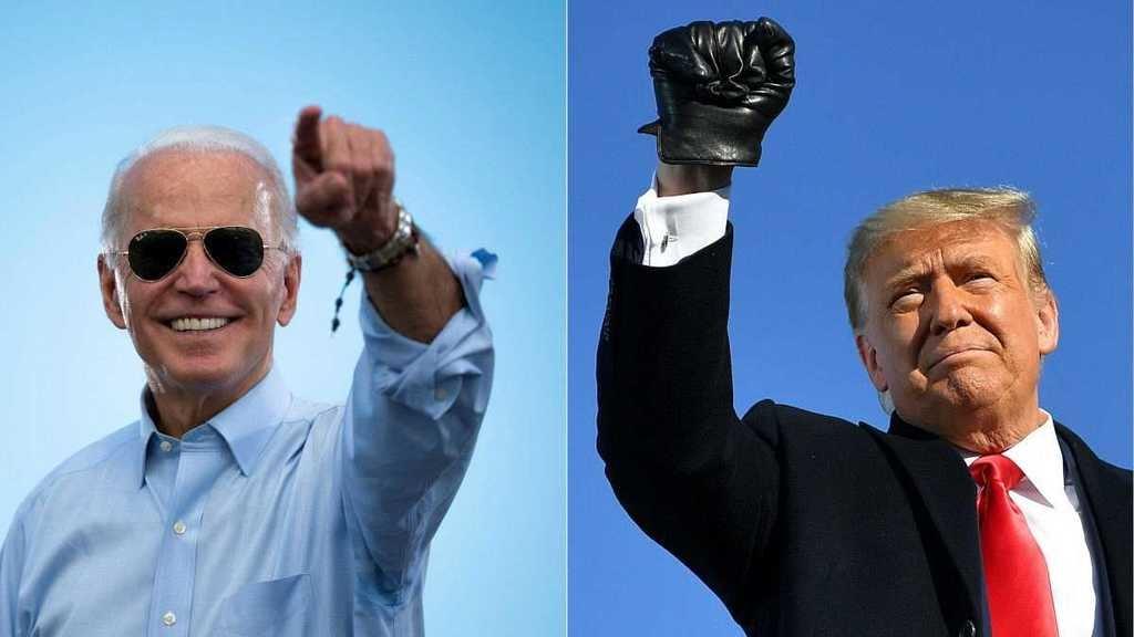 Los candidatos en las elecciones de EE.UU: Biden y Trump. (Foto: RTVE)
