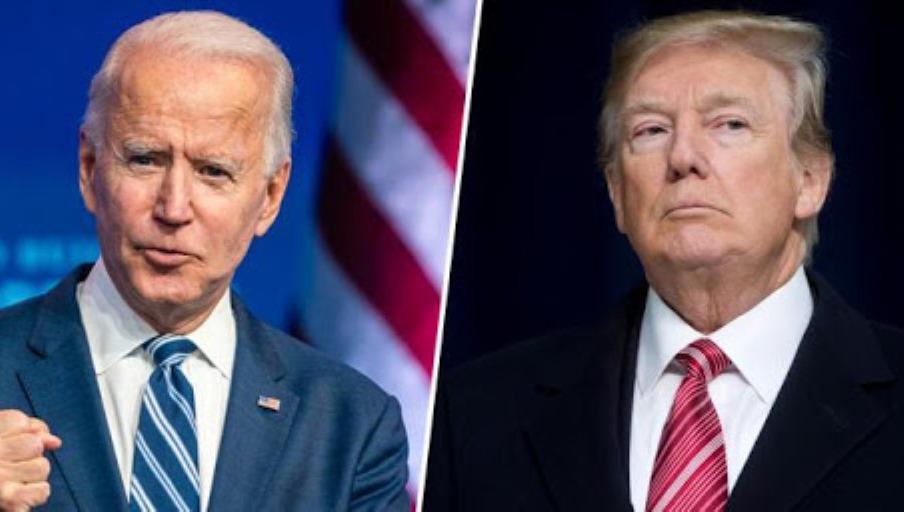 Joe Biden y Donald Trump. (Foto: www.granma.cu)