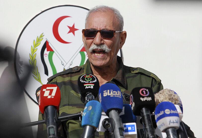Brahim Ghali, 'presidente' de la República Saharaui, hospitalizado en secreto en España. (Foto: https://atalayar.com/)