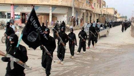 El califato del terror. Miembros del Estado Islámico en Siria. (Foto: 20 Minutos).