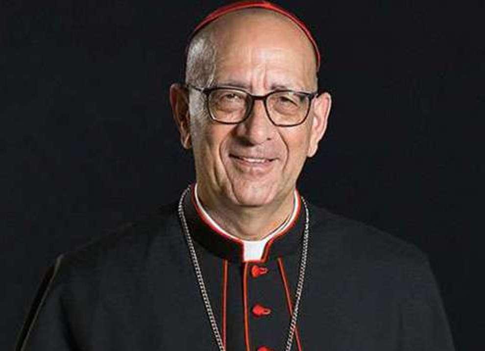 D. Juan José Omella y Omella, arzobispo de Barcelona y Presidente de la Conferencia Episcopal Española.
