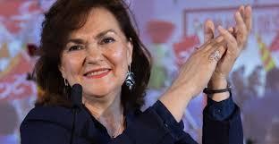 Carmen Calvo, vicepresidenta del Gobierno 'progresista' de España en funciones. Foto: www.eldebatedehoy.es