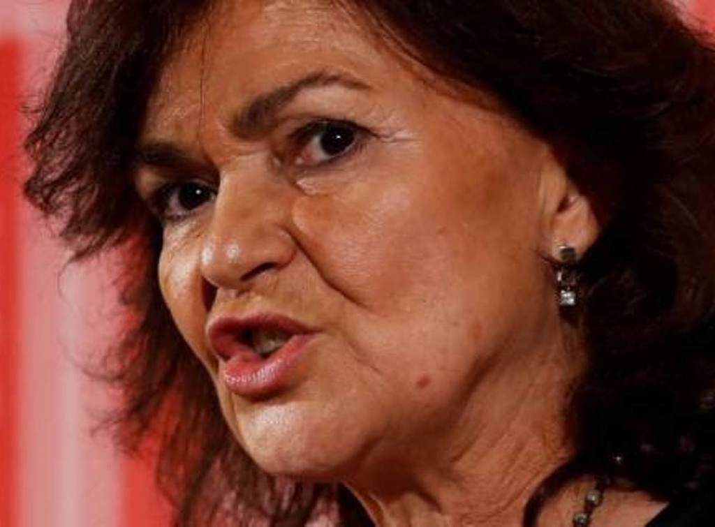 Carmen Calvo, vicepresidenta del Gobierno español de Pedro Sánchez