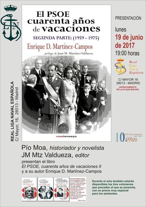 El PSOE, 40 años de vacaciones (II), de Enrique D. Martínez-Campos