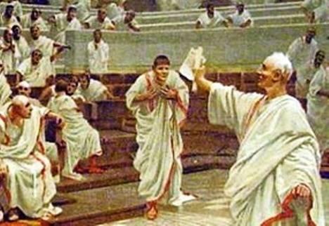 Cicerón y Catilina