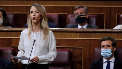 Cayetana Álvarez de Toledo, exportavoz del Partido Popular en el Congreso de los Diputados. (Foto: RTVE)