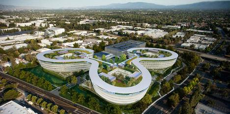 El futurista proyecto de Aple en Silicon Valley.