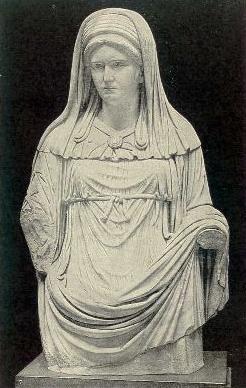 Virgo Vestalis Maxima.