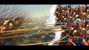 Batalla de Cinoscefalos. (Foto: https://www.youtube.com/watch?v=C-CKBZ0U6rs)