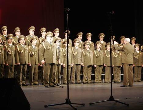 El Coro del Ejército Ruso