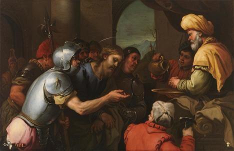 Cristo ante Pilatos, de Luca Giordano. Museo del Prado, Madrid.