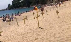 Enfrentamiento civil en Cataluña