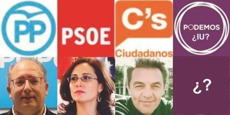 Tres candidatos casi seguros y la incógnita del pacto Podemos-Izquierda Unida