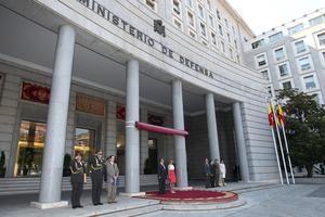 Edificio del Ministerio de Defensa de España, en Madrid. (Foto: Ministerio de Defensa)