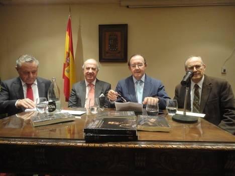 De izquierda a derecha Leonardo García Llamas, Antonio Sáinz de Vicuña, Íñigo Castellano y Pedro López Arribas