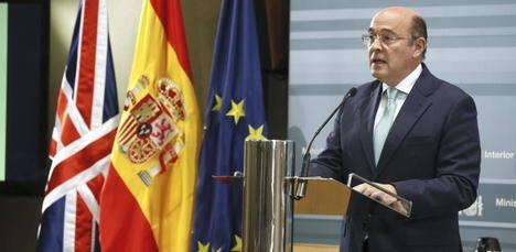 El coronel de la Guardia Civil Diego Pérez de los Cobos asume el mando de todas las fuerzas de seguridad del Estado en Cataluña. (Foto: Archivo EFE)