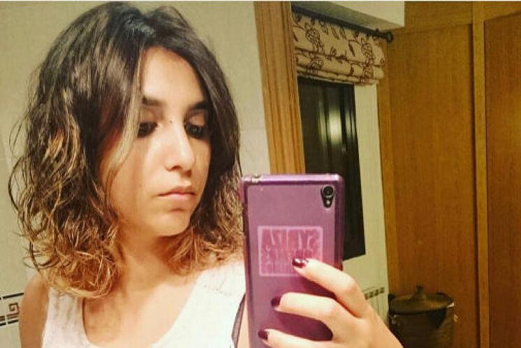 Dina Bousselham, directora del diario digital podemita 'La Última Hora' y exasesora de Pablo Iglesias. (Foto: El Diestro).