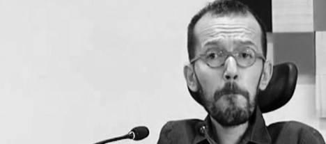 Pablo Echenique, ilustre científico argentino-español, antiguo militante de Ciudadanos (C's) devenido a secretario de Organización de Podemos, en estado de 'shock'