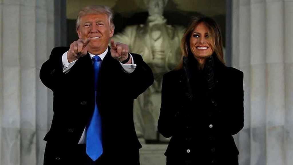 El Presidente de EE.UU., Donald Trump, y su esposa. (Foto: RTVE).