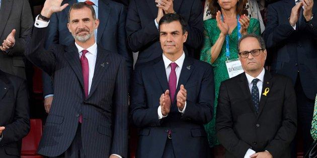 S.M. el Rey de España en la inauguración de los Juegos del Mediterráneo 2018