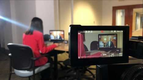 Entrevista a Barack Obama en Televisión Española. (Foto: RTVE).