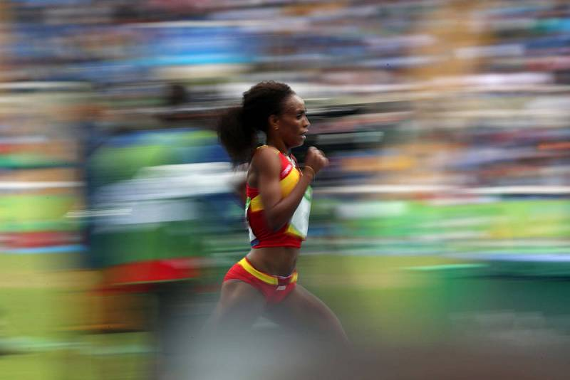 Trihas Gebre, deportista etíope nacionalizada española. (Foto: RTVE).