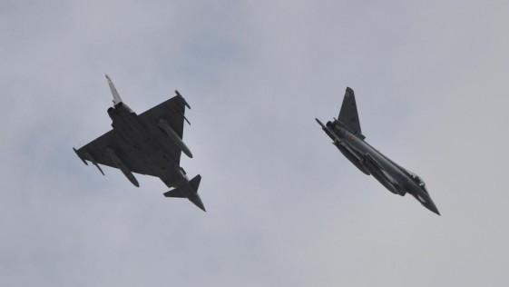 Maniobras del Ejército del Aire y la OTAN en la defensa aérea de Canarias