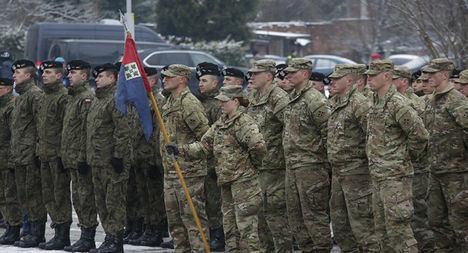 Militares norteamericanos y de la OTAN de maniobras por Europa. (https://mundo.sputniknews.com/  Photo / Krzysztof Zatycki)