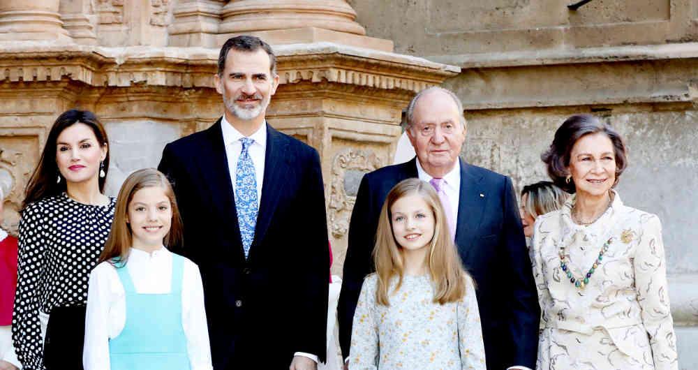 La Familia Real Española. (Foto: web de Casa Real)
