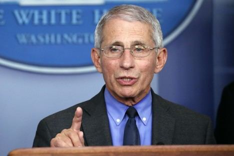 Anthony Fauci. (Foto: Los Angeles Times).