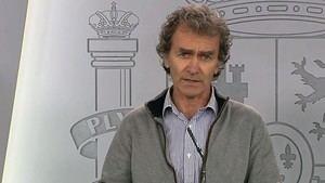 El ínclito Fernando Simón. (Foto: RTVE)