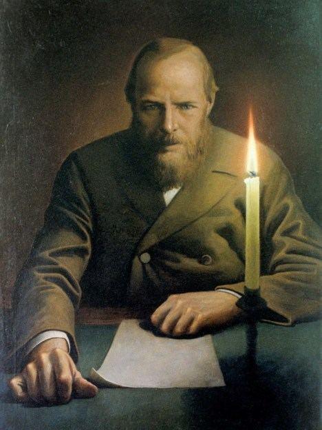 Retrato de Fiodor Dostoievski, por Konstantin Vasilyev.