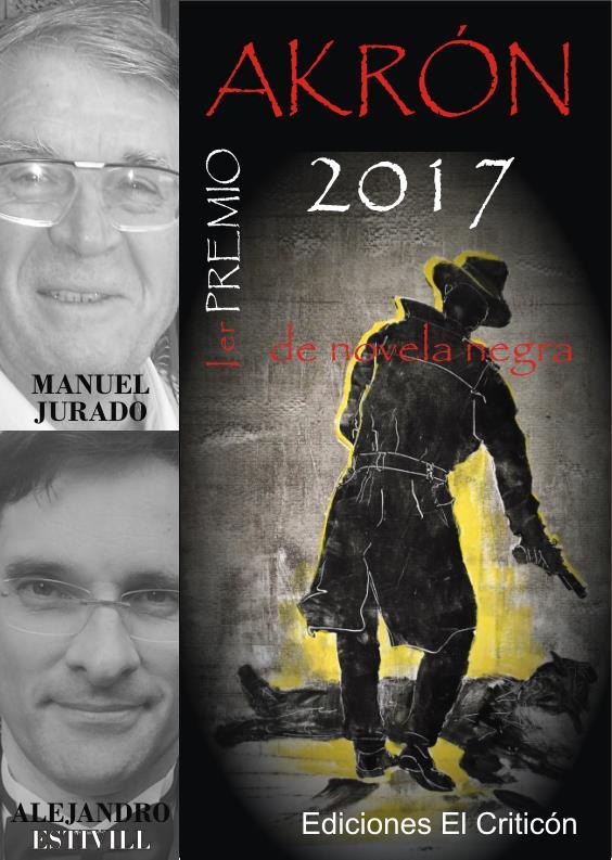 Entrega del I Premio Akrón de Novela Negra 2017