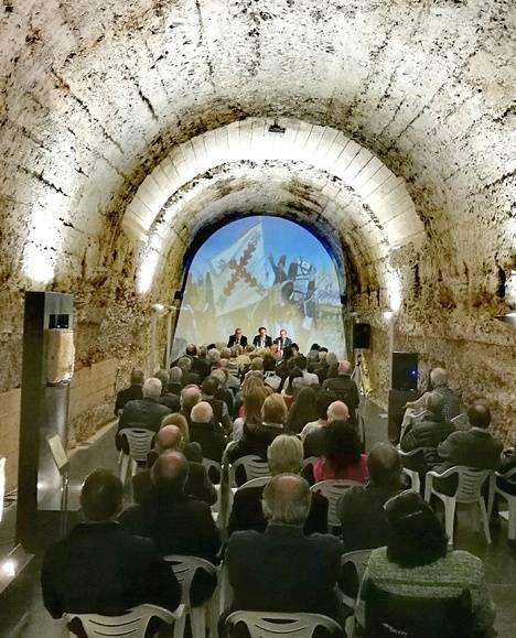 Lleno en la Sala Ergástula del Museo Romano de Astorga