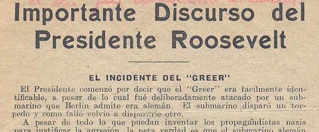 Cuando el 'bandolero' Girón fue la voz de Roosevelt