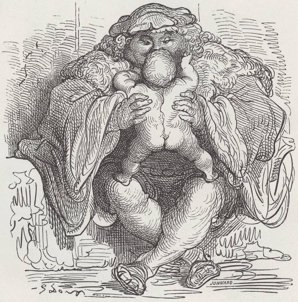 Ilustración de Gustavo Doré