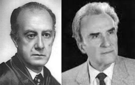 Los geólogos españoles Francisco Hernández Pacheco y Manuel Alía Medina, pioneros en la exploración geológica del Sahara Occidental.