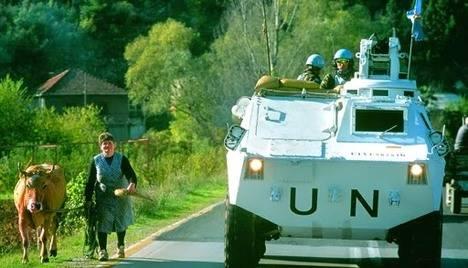 CESET blindado en Bosnia