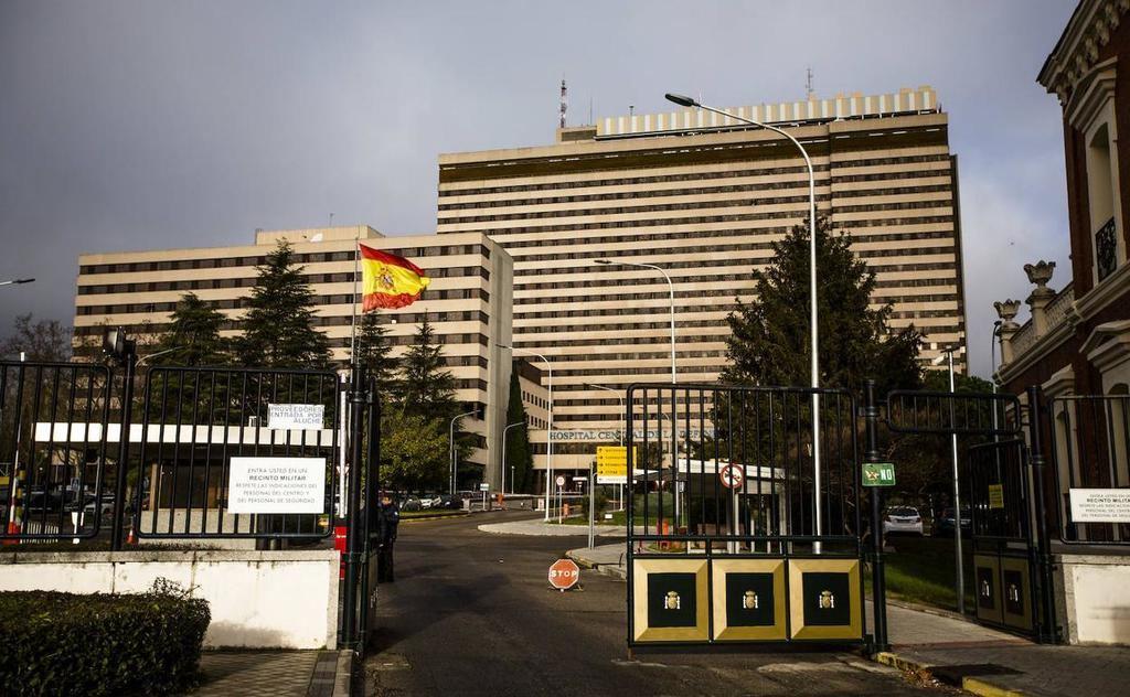 Hospital Central de la Defensa 'Gómez Ulla', en Madrid. (Foto: https://www.burgosconecta.es/)