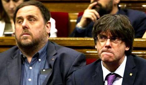 Junqueras y Puigdemont, premiados el 21-D.