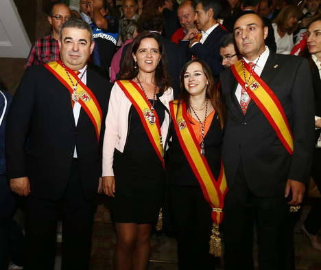 El Grupo Municipal de Ciudadanos en el Ayuntamiento de León. (Foto: web de Ciudadanos)
