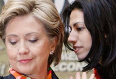 Hillary R. Clinton y Huma Abedin