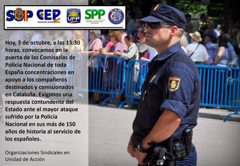 LOS POLICÍAS SE DEFIENDEN