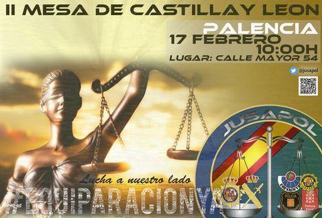 JUSAPOL: Asamblea General y II Mesa de Negociación de Castilla y León por la equiparación salarial