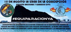 JUSAPOL no descansa en agosto: apoyo a Ceuta y al Campo de Gibraltar