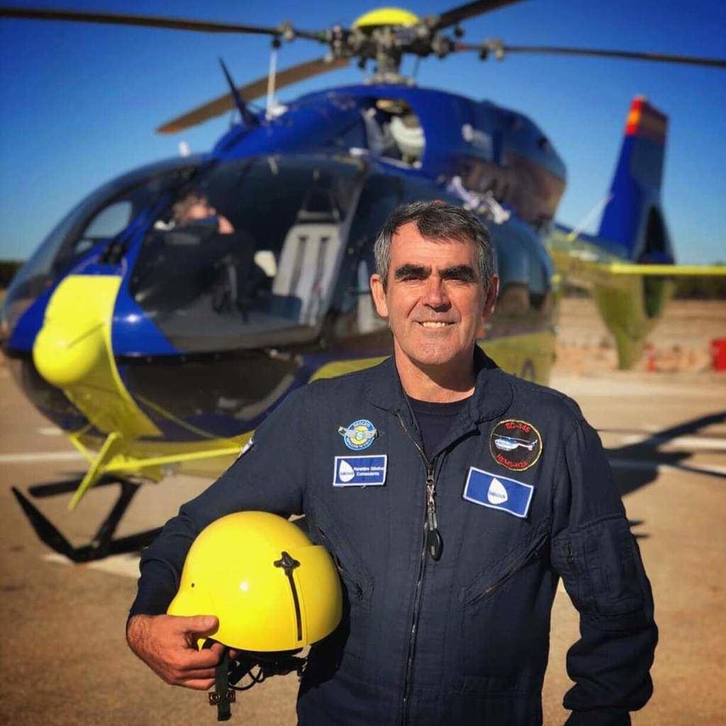 El piloto de Emergencias Sanitarias fallecido a causa del Covid-19, Florentino Sánchez Sánchez.