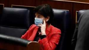 Isabel Celaa, exministra de Educación. (Foto: RTVE).